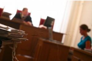 Białogard: protest przed Sądem Rejonowym w Białogardzie