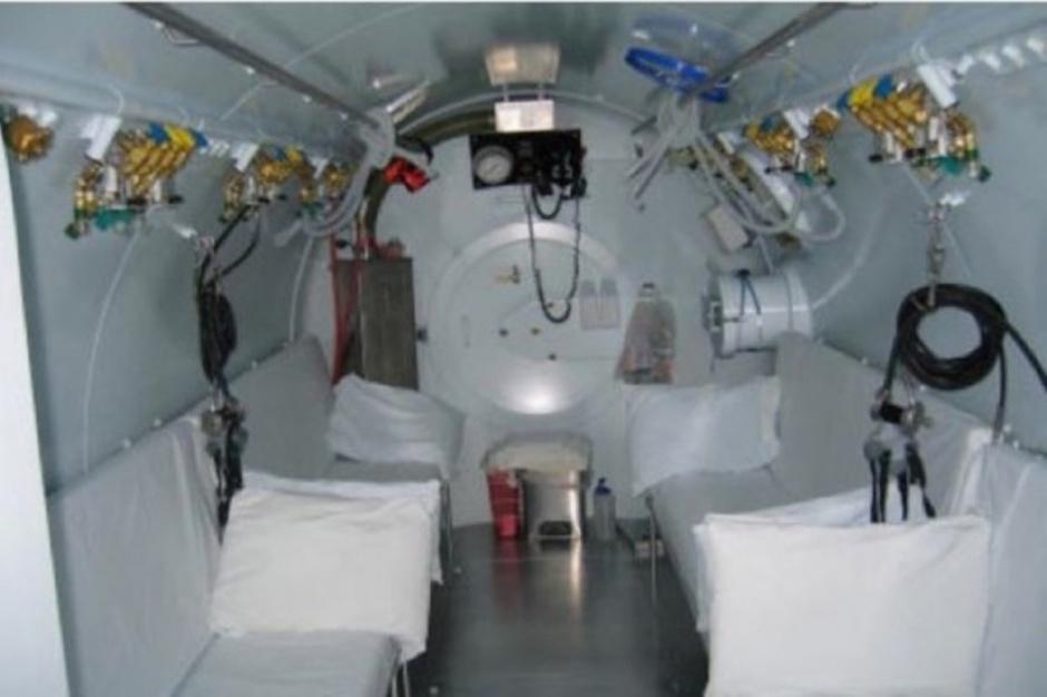 Komora hiperbaryczna nie leczy, USK w Białymstoku nie ma kontraktu