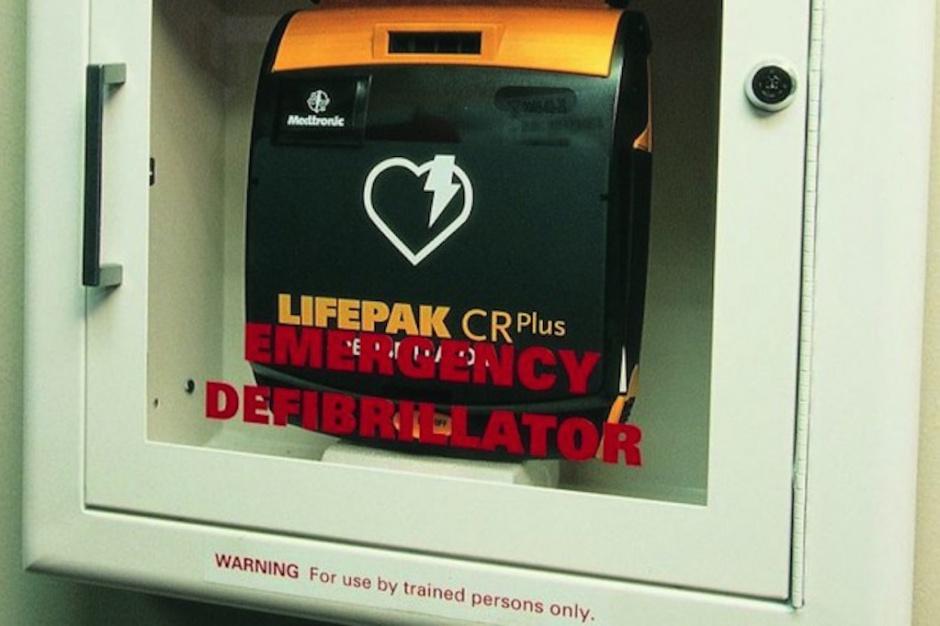Sosnowiec: zainstalowano trzy defibrylatory