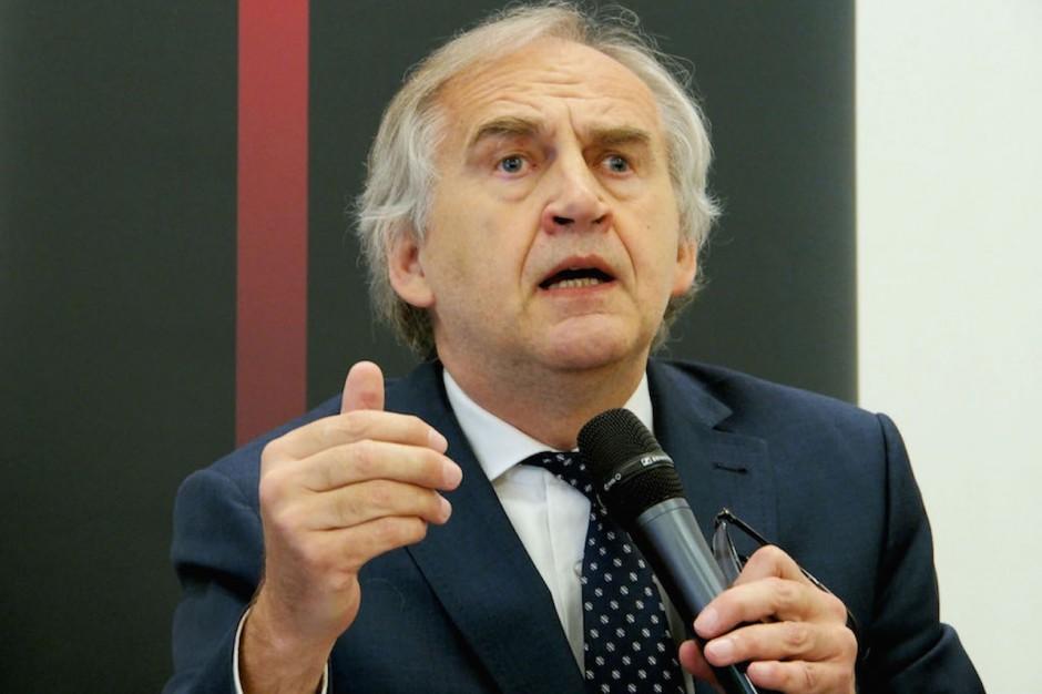Minister zdrowia Marian Zembala z wizytą w ICZMP w Łodzi