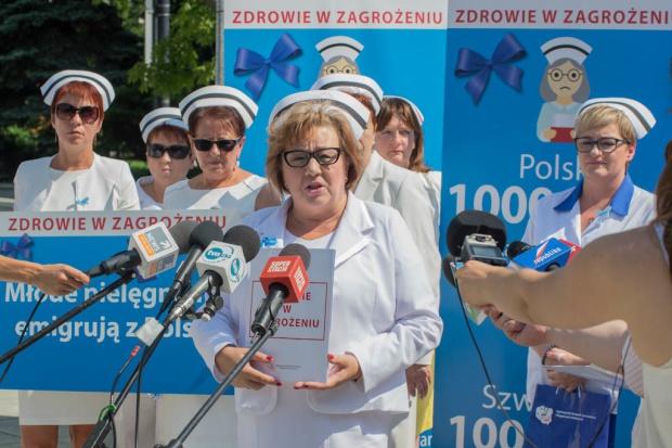 Dargiewicz: MZ nie traktuje poważnie pielęgniarek, położnych i pacjentów