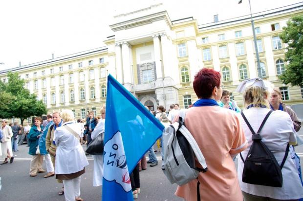 10 września manifestacja pielęgniarek w Warszawie, potem strajk