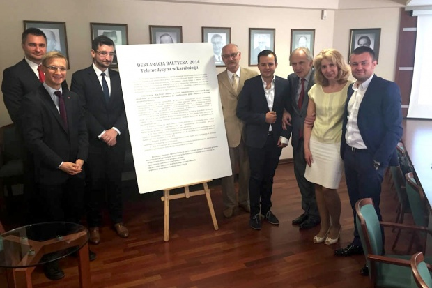 Minister zdrowia podpisał Deklarację Bałtycką dotyczącą telemedycyny