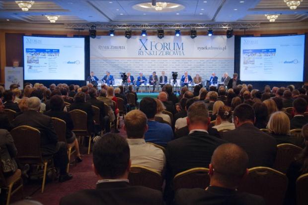 XI Forum Rynku Zdrowia: debata polityków i ekspertów tuż przed ciszą wyborczą