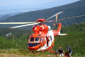 Tatry: akcja pod Rysami; nie udało się uratować turysty