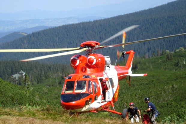 TOPR: od początku wakacji w Tatrach doszło do 92 wypadków