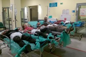 Kielce: nietrzeźwi pacjenci wciąż dezorganizują pracę SOR