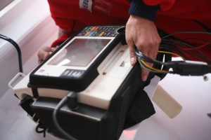 Białostocka Straż Miejska otrzymała przenośne defibrylatory