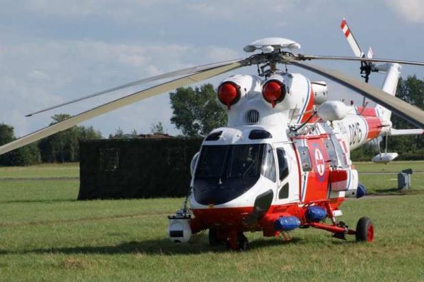 Gdynia: ratownicy morscy udzielili pomocy z powietrza