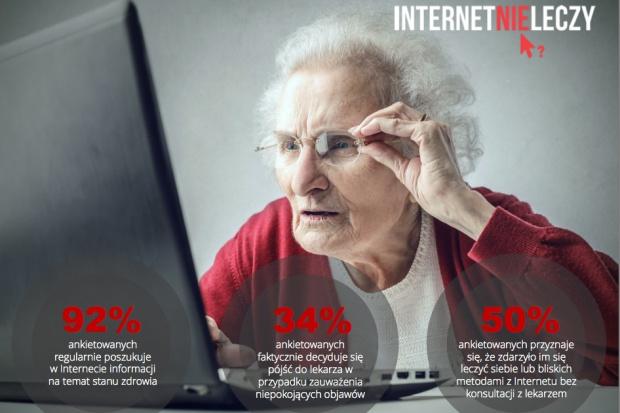 Diagnozy z internetu straszą pacjentów