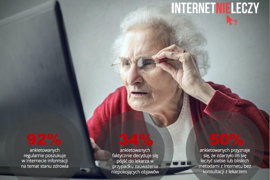 """Ruszyła kampania społeczna """"Internet nie leczy"""""""