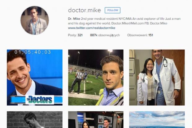 Najprzystojniejszy lekarz pracuje w Nowym Jorku i ma tysiące fanów
