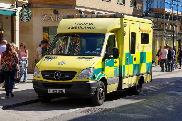 Londyn: pożar szpitala Chase Farm