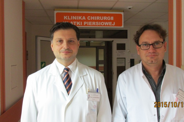 Kielce: nowe zabiegi w Klinice Chirurgii Klatki Piersiowej ŚCO