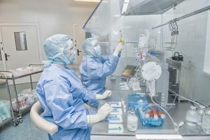 Sosnowiec: szpital stosuje technologie wojskowe w zabezpieczeniu pacjentów