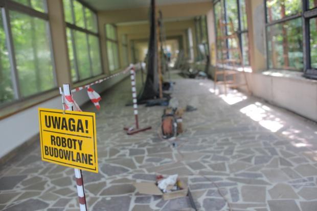 Łapy: starostwo wyremontuje szpital