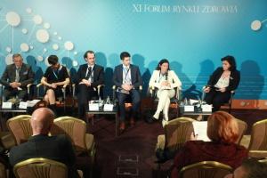 XI Forum Rynku Zdrowia - sesja: Kilka chorób, wspólny problem
