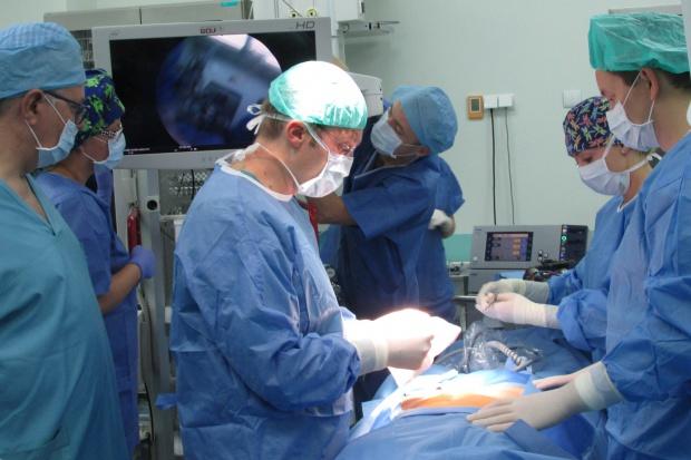 Warsztaty laparoskopii w Klinice Ginekologii Świętokrzyskiego Centrum Onkologii