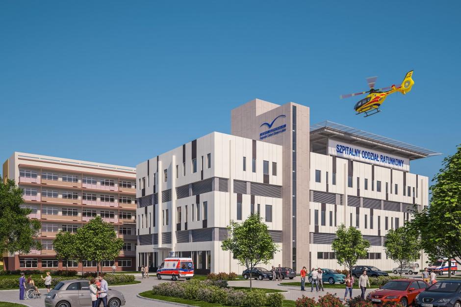 Lubin: EMC wyda 34 mln zł na rozbudowę szpitala