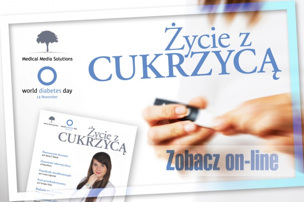 "Medical Media Solutions: kampania ""Życie z cukrzycą"""