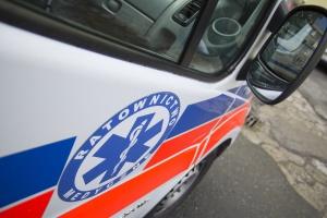 Kielce: ratownicy medyczni protestowali przeciwko zwolnieniu ich kolegów