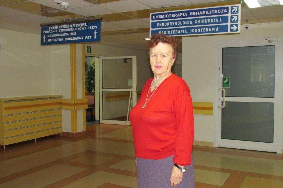 Wolontariuszka poświęciła chorym już 600 poniedziałków
