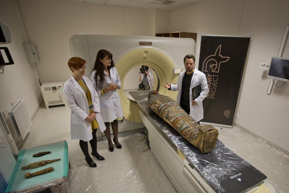 Ruszył unikatowy projekt interdyscyplinarnych badań mumii