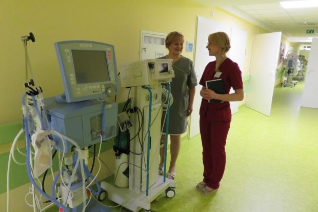 Kielce: szpital wojewódzki ma nowy sprzęt do ratowania życia noworodków