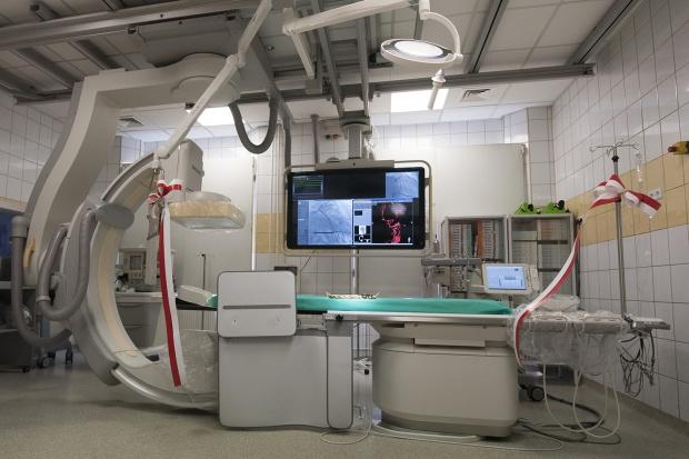 Bytom: nowoczesny angiograf w szpitalu wojewódzkim