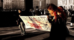 Warszawa: demonstrowali pod Sejmem za liberalizacją prawa aborcyjnego