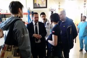 Lekarze Zespołu Ratunkowego PCPM pomagają w Iraku