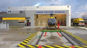 Opolskie: otwarcie stałej bazy śmigłowców Lotniczego Pogotowia Ratunkowego