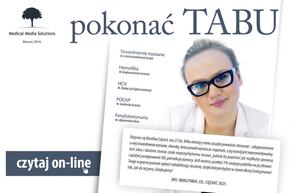 """Kampania prasowo-internetowa """"Pokonać tabu"""""""