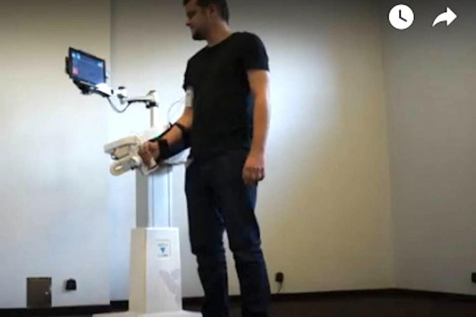 Gliwice: nowatorski robot rehabilitacyjny trafia na rynek