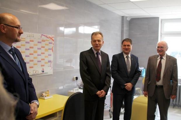 Cieszyn: nowy gabinet laryngologiczny ma niezwykłego fundatora