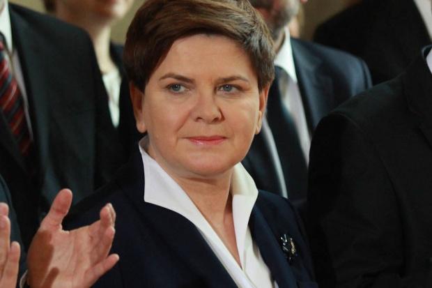 Premier po wyjściu ze szpitala podziękowała służbom medycznym