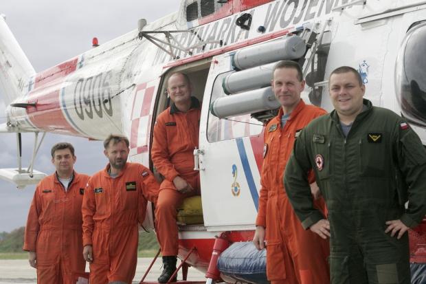 Śmigłowiec Anakonda w akcji ratowniczej na Bałtyku