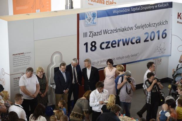 Zjazd wcześniaków urodzonych w WSZ w Kielcach