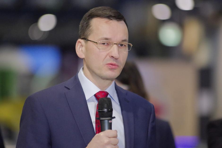 """Morawiecki: uruchomimy program """"Czyste powietrze"""""""
