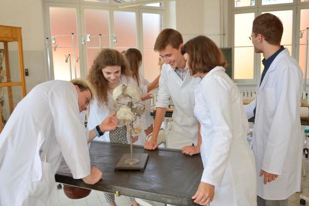 Wizyta studentów i naukowców Lwowskiego Uniwersytetu Medycznego
