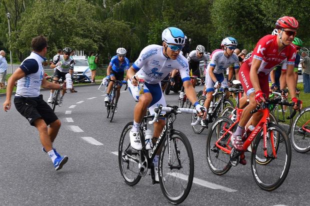 Kolarska drużyna chorych na cukrzycę jedzie w wyścigu Tour de Pologne