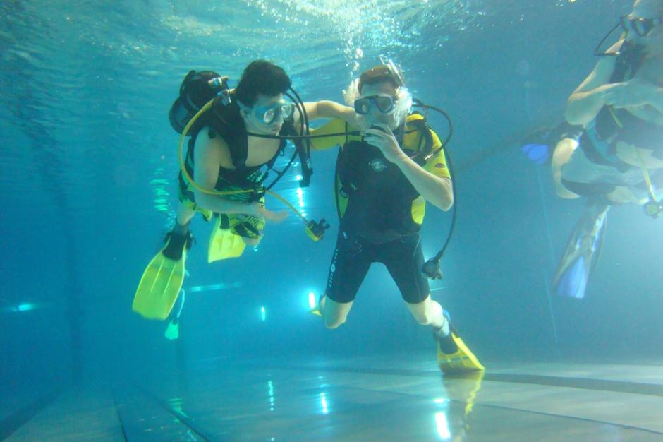 W Pile powstaje platforma do nurkowania dla niepełnosprawnych