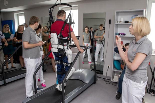 To pierwszy w Polsce taki robot rehabilitacyjny