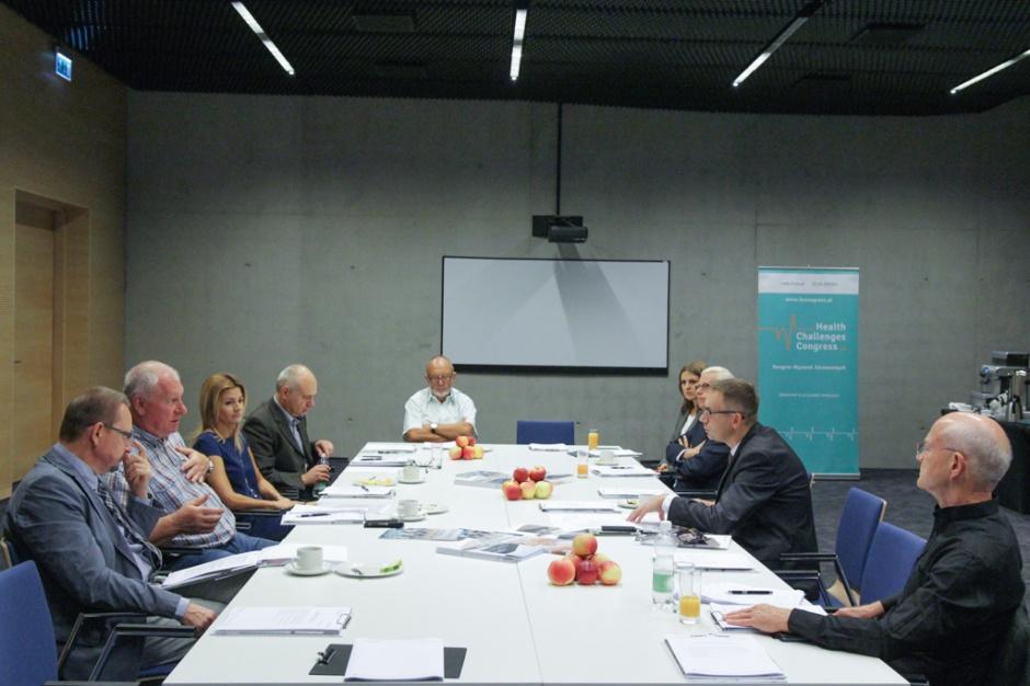 Podczas pierwszego spotkania Rady Naukowej HCC 2017