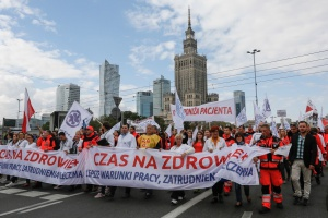 Protest Porozumienia Zawodów Medycznych zakończony, podziały pozostały