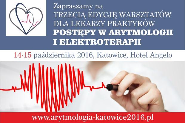 Postępy w arytmologii i elektroterapii - warsztaty dla lekarzy praktyków