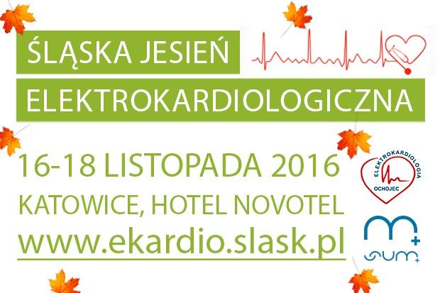 """Konferencja """"Śląska Jesień Elektrokardiologiczna"""""""