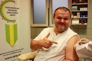 Posobkiewicz: szczepiąc się na grypę niwelujemy możliwość spotkania się dwóch wirusów