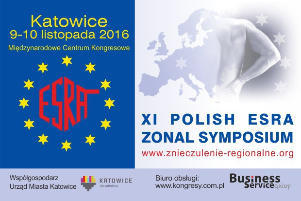Katowice: XI Międzynarodowe Sympozjum Anestezji Regionalnej