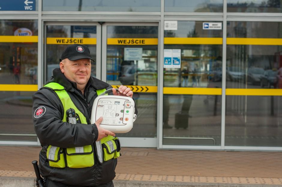 Kołobrzeg: ktoś ukradł defibrylator, prezydent wyznaczył 500 zł nagrody
